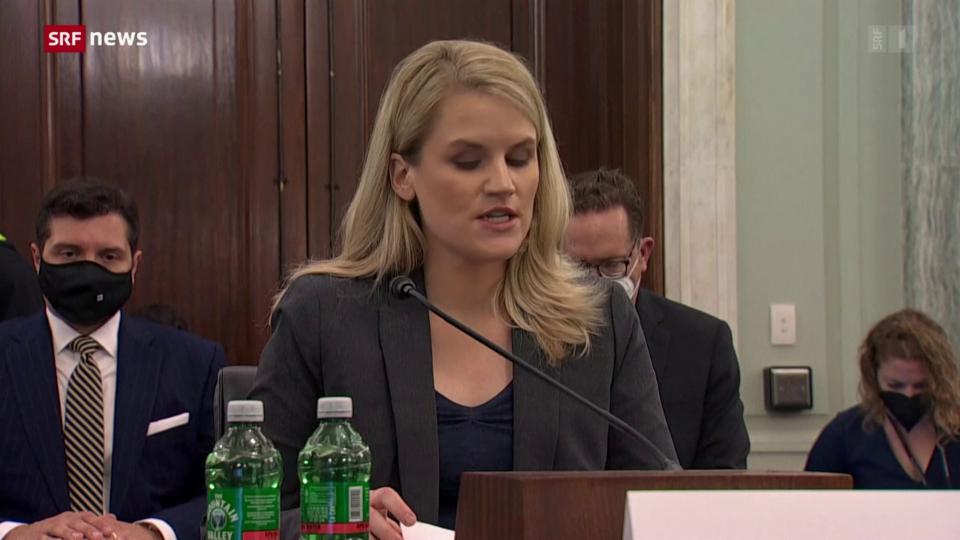 Whistleblowerin Haugen sagt vor Ausschuss gegen Facebook aus
