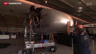 Video ««Solar Impulse 2» vor Start zur Erdumrundung» abspielen