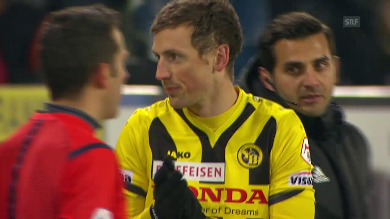 Fussball: Luzern - YB, die Tore
