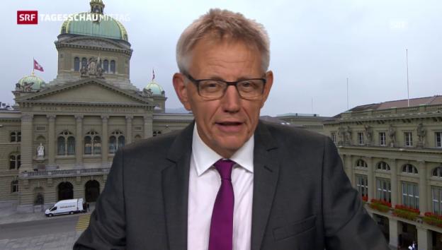 Video «Bundeshausredaktor Trütsch über Widmer-Schlumpf» abspielen