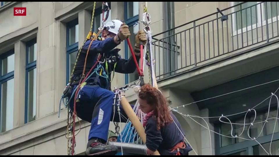 Polizei geht gegen erneute Demo von Klima-Aktivisten in Zürich vor