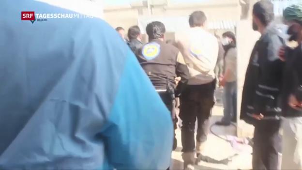Video «Syrien: Wer ist für den Giftgas-Angriff verantwortlich?» abspielen
