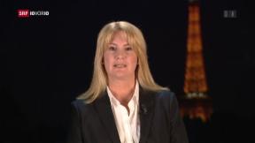 Video «FOKUS: Live-Schaltung zu Alexandra Gubser in Paris» abspielen