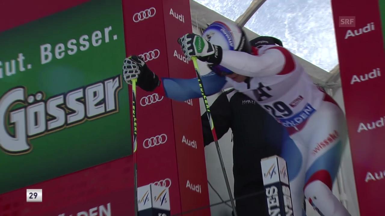 Ski alpin: 1. Lauf von Gino Caviezel («sportlive»)