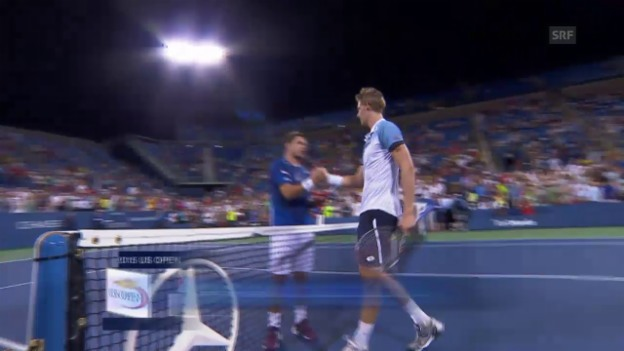 Video «Tennis: US Open, Wawrinka - Anderson» abspielen