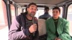 Video «Mit einer Sängerin im E-Taxi» abspielen