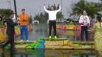 Video «Die Stars feiern Olympiasieger Cancellara» abspielen