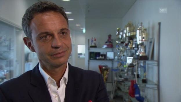 Video «Fussball: Interview mit FCB-Präsident Bernhard Heusler» abspielen