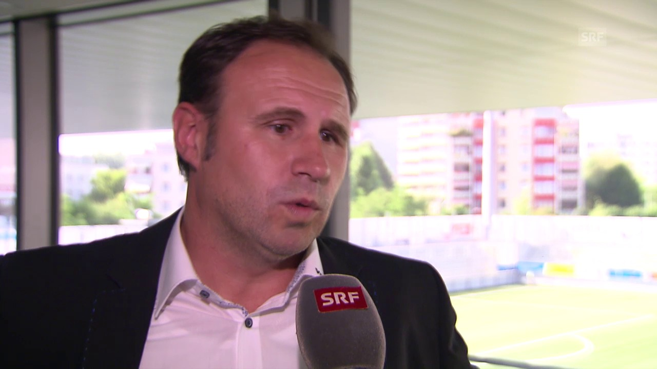 Fussball: FC Wil, Interview mit Präsident Roger Bigger