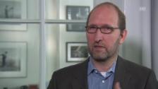 Video «Roman Rossfeld über die Kritik an der Munitionsfabrikation» abspielen