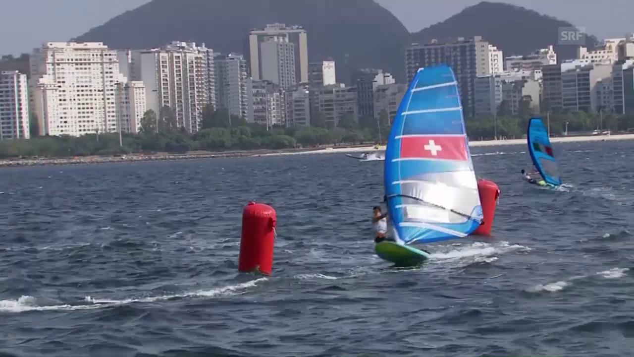 Sanz Lanz surft auf Platz 20