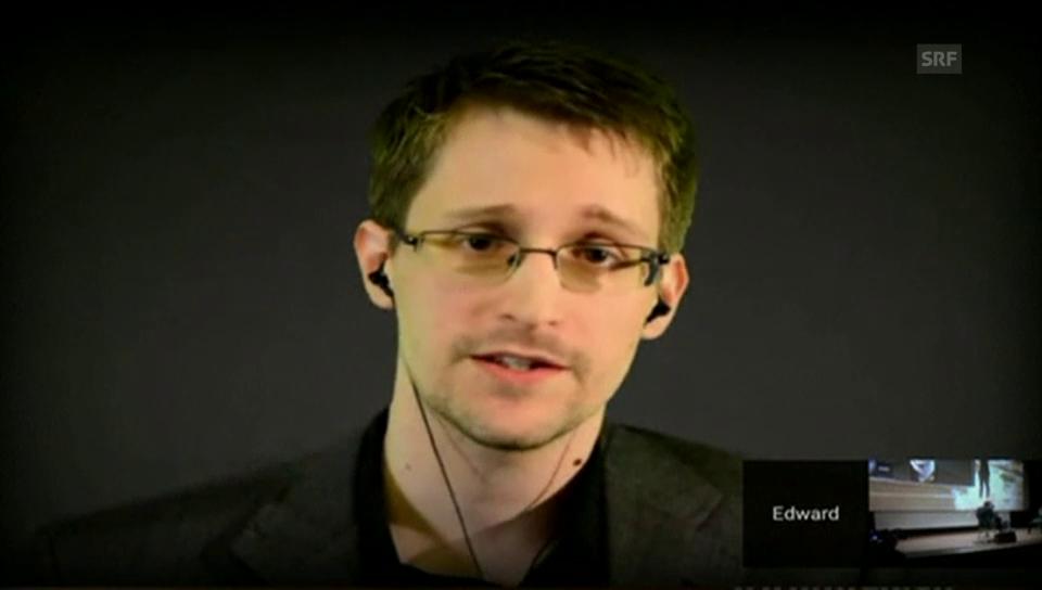 Snowden über politisches Asyl in der Schweiz