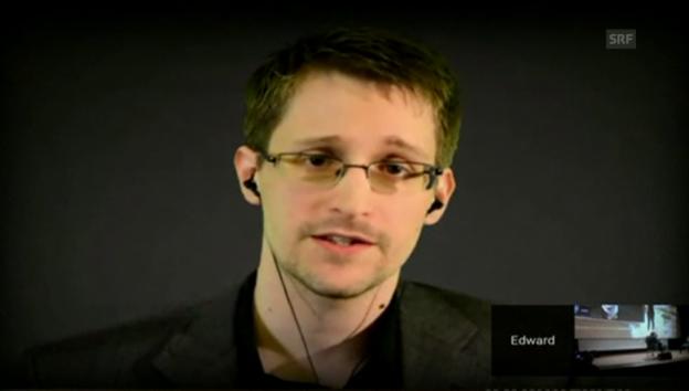 Video «Snowden über politisches Asyl in der Schweiz» abspielen