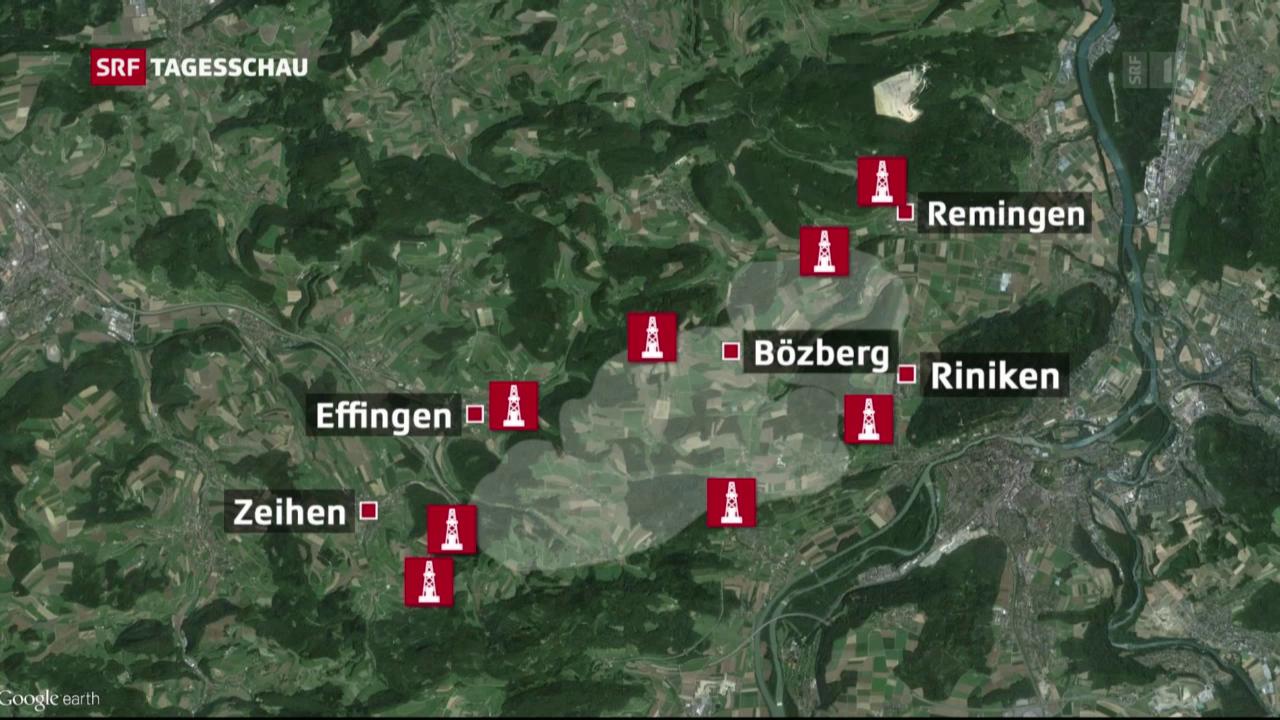 Bözberg und Zürcher Weinland im Fokus der Nagra
