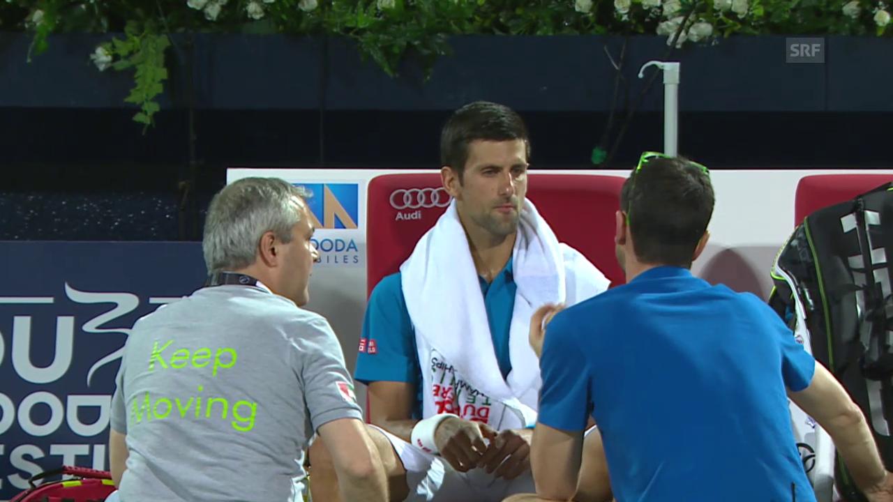 Djokovic out