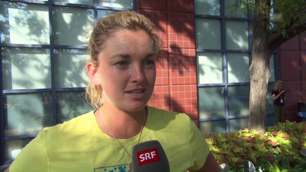 Video «Vandeweghe: «Martina hat mich angerufen»» abspielen
