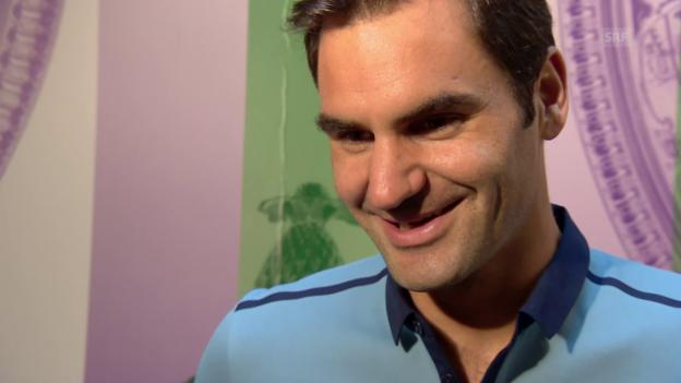 Video «Federer: «Distanz gewinnen vom ganzen Rummel»» abspielen