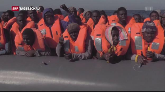 Video «Kooperieren Schlepper und Rettungsorganisationen?» abspielen