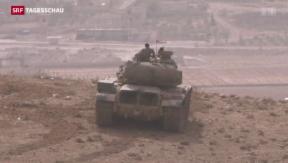 Video «Weiterhin erbitterter Kampf um Kobane» abspielen