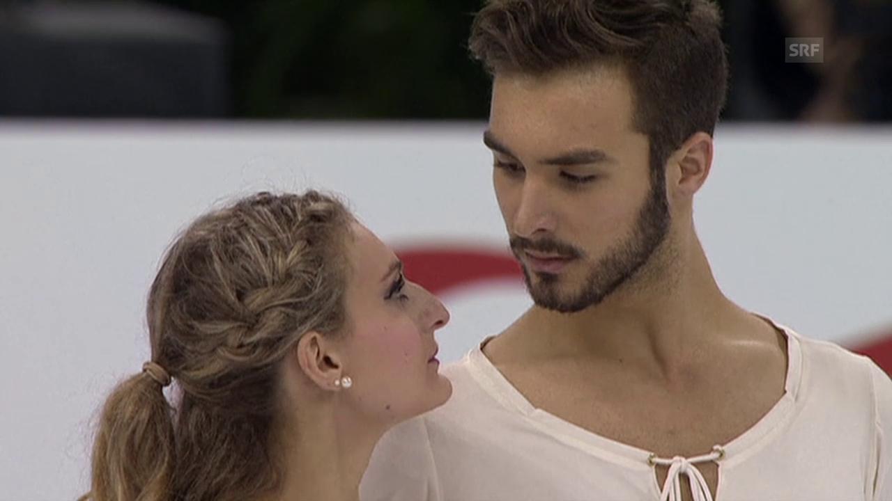Eiskunstlaufen: WM 2015, Eistanz, Kür Papadakis/Cizeron