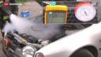 Video «Brandgefahr bei Kältemittel für Auto-Klimaanlagen» abspielen