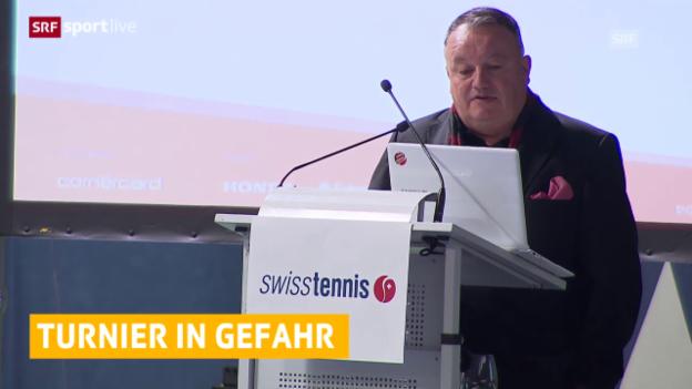 Video «Tennis: WTA, Vorerst kein Turnier in der Schweiz» abspielen