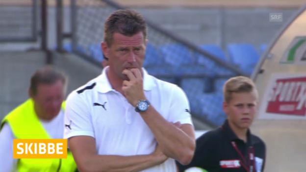 Video «Fussball: GC verlängert mit Skibbe» abspielen