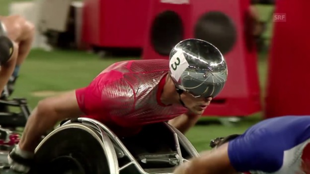 Video «Paralympics: Die Schweizer Highlights des 7. Tages» abspielen