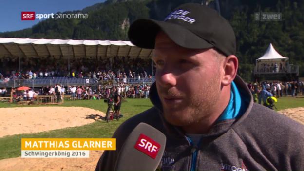 Video «Das ist Schwingerkönig Matthias Glarner» abspielen