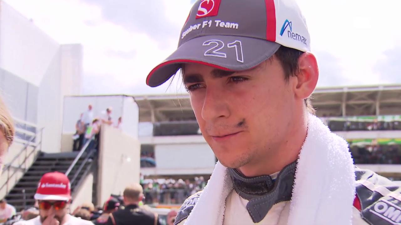 F1: Sauber-Pilot Gutierrez zu seinem Rennen (englisch)