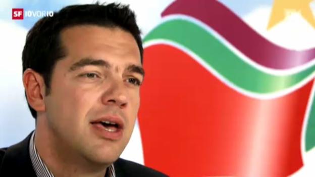 Video «Der junge Protest-Held Alexis Tsipras» abspielen