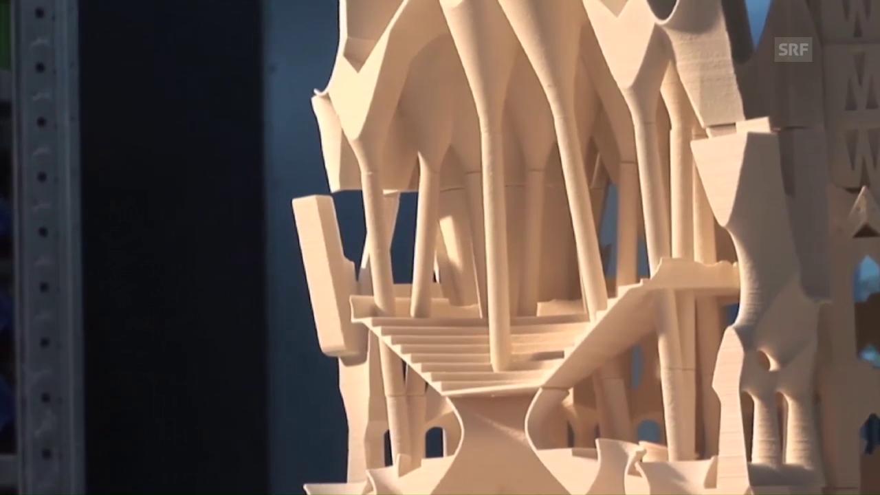 Mark Burry über 3D-Druck beim Bau der Sagrada Familia (Englisch)