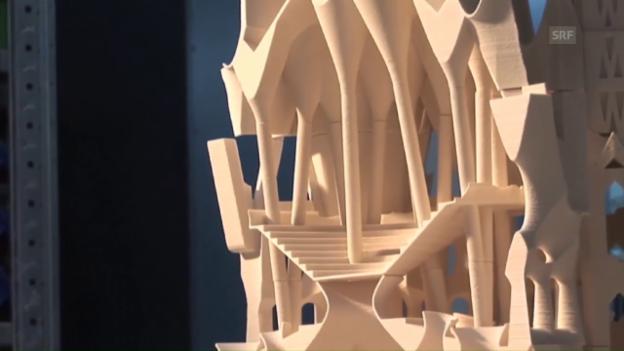 Video «Mark Burry über 3D-Druck beim Bau der Sagrada Familia (Englisch)» abspielen