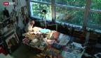 Video «Hans Erni feiert 105. Geburtstag» abspielen