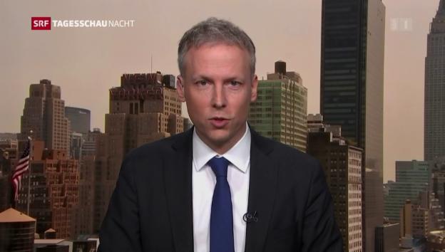 Video «Trump gescheitert: Analyse von SRF-Korrespondent von Grünigen» abspielen