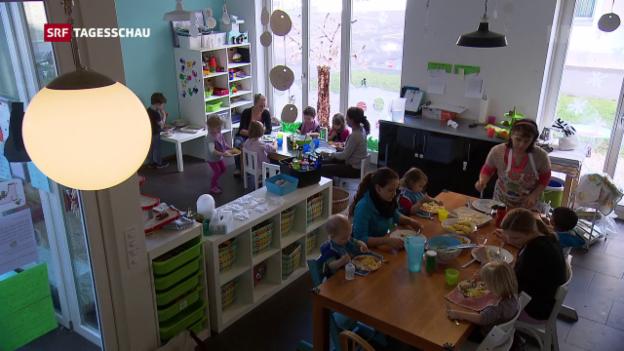 Video «Verbilligung von Kinderkrippen» abspielen