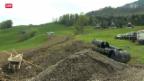 Video «Rutschende Hänge in der Zentralschweiz» abspielen
