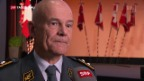 Video «Symbolische Stabübergabe bei der Luftwaffe» abspielen