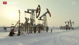 Video «Russland ächzt wegen des tiefen Ölpreises» abspielen