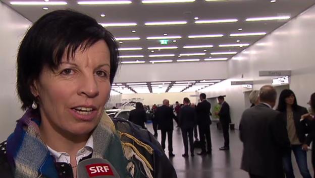 Video «Vreni Schneider über ihren späten CD-Erfolg» abspielen