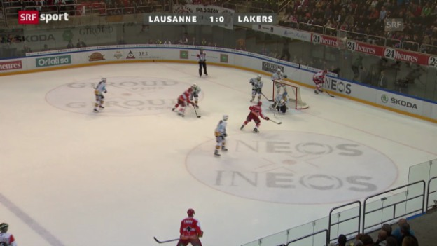 Video «NLA: Lausanne - Lakers» abspielen