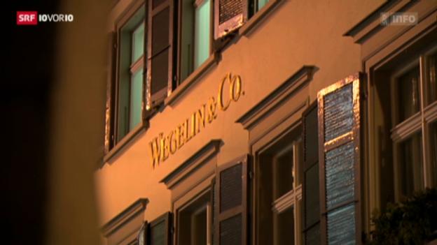 Video «Wegelin gesteht Beihilfe zur Steuerhinterziehung» abspielen