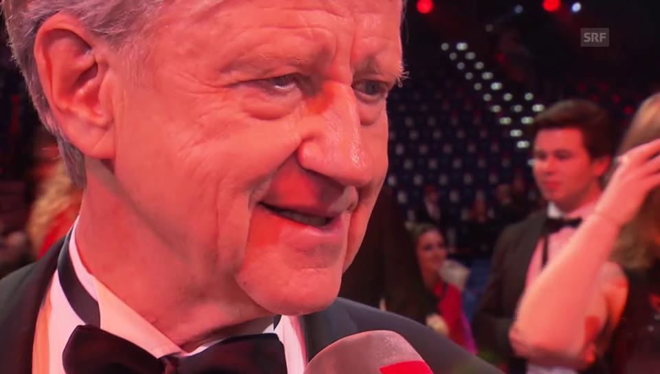 Freddy Burger über seinen Auftritt und Udo Jürgens