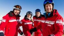 Link öffnet eine Lightbox. Video «SRF bi de Lüt – Die Skilehrer» in Saas-Fee (3/3) abspielen