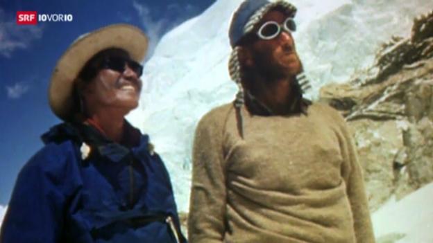 Video «60 Jahre Erstbesteigung des Mount Everest» abspielen