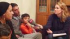 Video «Tag 1: Kathrin Hönegger bei Familie Sydo aus Syrien» abspielen