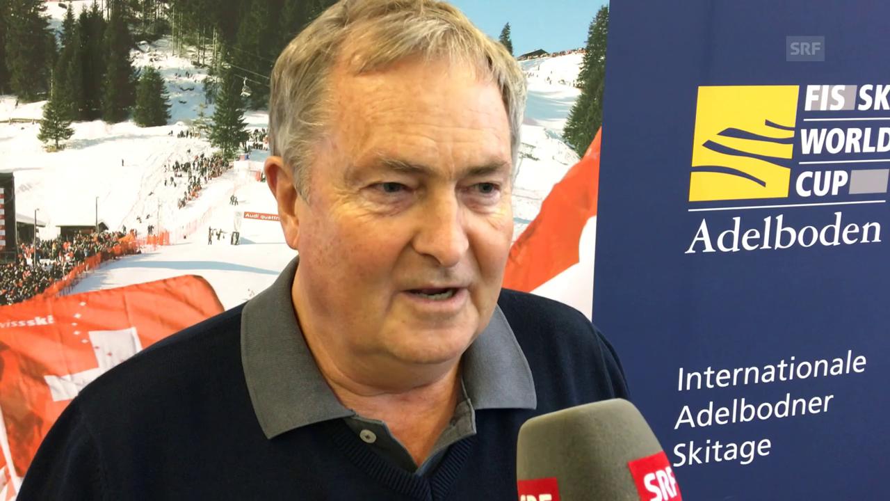OK-Chef Willen: Rennen in Adelboden finden statt