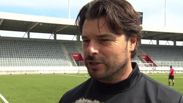Video «Fussball: Ciriaco Sforza im Interview, Teil 1» abspielen