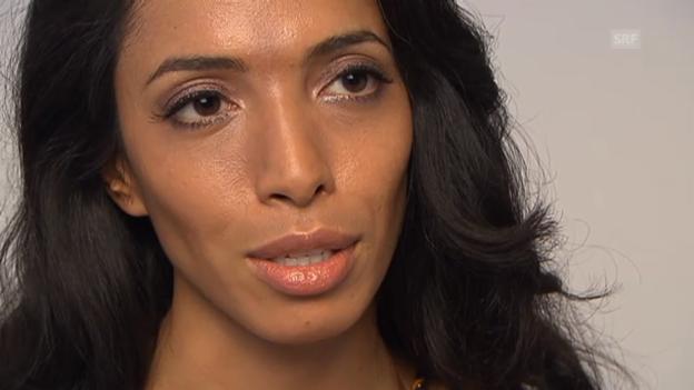 Video «Zohre Esmaeli über ihren Job als Model» abspielen