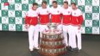 Video «Tennis: Auslosung Davis Cup» abspielen
